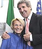 Emma Bonino e John Kerry