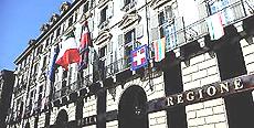 La sede della Regione Piemonte a Torino