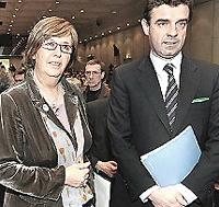 Mercedes Bresso e Roberto Cota