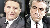 Renzi e Barca