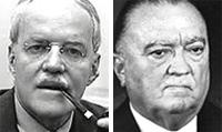 Allen Dulles e Edgar Hoover