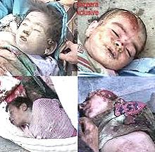 Bambini uccisi dagli Usa a Fallujah con armi di distruzione di massa