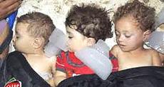 Bambini uccisi dai gas, le spaventose immagini che hanno invaso i media