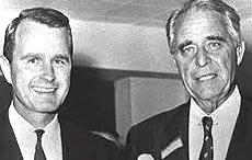 George Bush col padre, Prescott