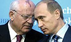 Gorbaciov e Putin