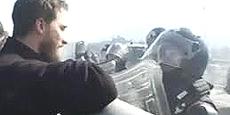 """Marco, il ragazzo che chiamò """"pecorella"""" un carabiniere, poco dopo il drammatico volo di Luca Abbà dal traliccio sul quale si era arrampicato per protesta"""
