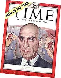 """Mossadeq uomo dell'anno per """"Time"""""""
