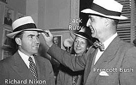 Nixon, Ruby e Prescott Bush