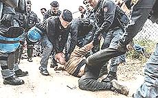 No Muos, repressione in Sicilia