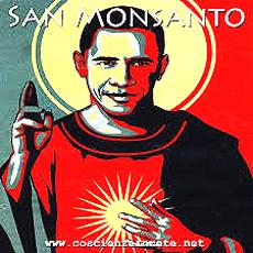 Obama sponsor degli Ogm Monsanto, manifesto di denuncia