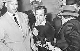 Oswald ferito a morte da Ruby