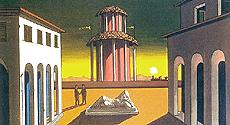 """""""Piazza d'Italia"""", di De Chirico"""