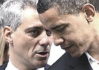 Rahm Emanuel con Obama