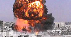 Siria, bombardamento su Homs