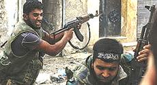 Siria, guerriglieri
