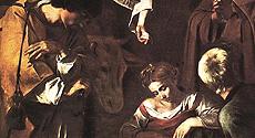 Una natività di Caravaggio trafugata a Palermo