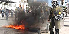 Guerriglia urbana ad Atene
