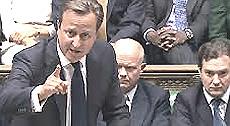Cameron sconfitto alla Camera dei Comuni