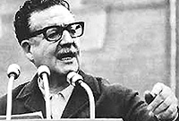 Il presidente cileno Allende, assassinato su ordine Usa