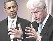 Obama e Clinton