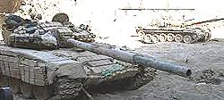 Unità corazzate dell'esercito siriano