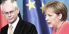 Van Rompuy e la Merkel