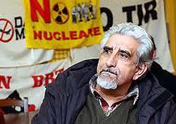 Alberto Perino, popolare volto della protesta No-Tav
