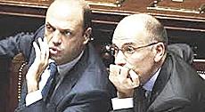 Letta con Alfano
