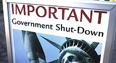 Lo shut-down negli Usa