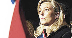 Marine Le Pen, del Front National