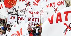 No Tav, manifestazione