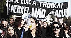 Portogallo, proteste contro la Troika europea