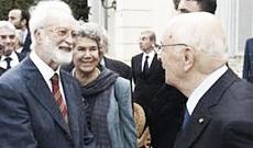 Scalfari e Napolitano