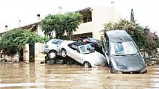 L'alluvione abbattutasi sulla Sardegna