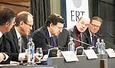 Barroso coi vertici di Ert