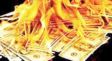 Dollaro in pericolo