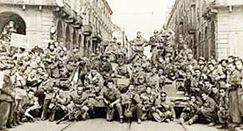 La Brigata Monferrato a Torino nell'aprile del '45