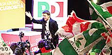Renzi festeggia la vittoria
