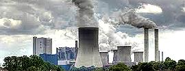Una centrale a carbone
