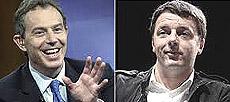 Blair e Renzi
