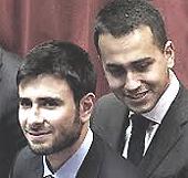 Di Battista e Di Maio, alfieri 5 Stelle in Parlamento