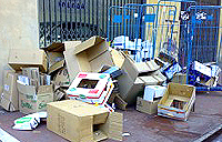 Imballaggi che si trasformano in rifiuti