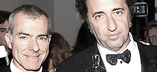 Giampaolo Letta e Paolo Sorrentino