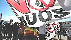 La mobilitazione No-Muos
