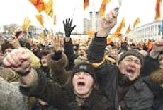 """La """"rivoluzione arancione"""" di Kiev"""
