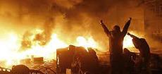 La violenta rivolta di Kiev