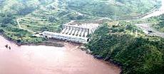 Maxi-diga sul fiume Congo