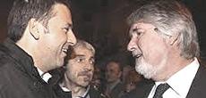 Renzi col ministro del lavoro Giuliano Poletti
