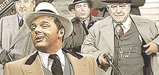 Renzi gangster in una vignetta di Baraldi