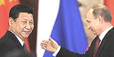 Xi Jingping e Putin